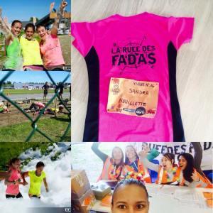 Team à la Ruée des Fadas de Toulouse 2015