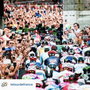 Photo officielle de la Tour de France (Instragram)